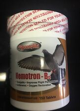 """NEW""PigeonAid HEMOTRON-B12 ENERGETIC 150 Tablets For Pigeons"