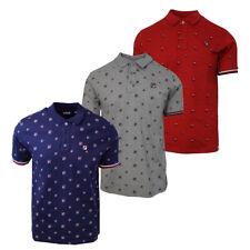 FILA Men's Fryatt S/S Polo Shirt (Retail $50.00)