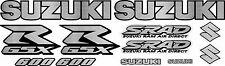 GSXR600 Stainless Steel Fairing Decals Stickers Emblem Decal Gsxr 600 Sticker