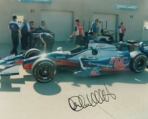"""2012 MARCO ANDRETTI signed INDIANAPOLIS 500 8"""" by 10"""" PHOTO HONDA INDY CAR tb"""
