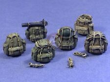 "Resicast 1/35 UK ""Bergen"" Rucksacks for Figures (6 different Rucksacks) 355661"