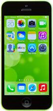 Téléphones mobiles verts avec écran tactile