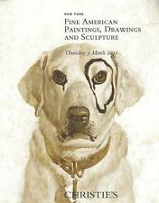 Christie's Fine American Paintings Drawings Sculpture Auction Catalog March 2012