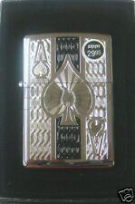 Zippo Ace of Spades High Polish Chrome Lighter 24196