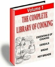 The Complete Library Of COOKING - 5 Volumes On Everything You Need To Know (CD)