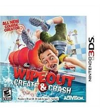 Wipeout: Create & Crash (Nintendo 3DS, 2013) - BRAND NEW