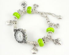 Watch Style Charm Bracelet Fit European Bead 20cm WN04