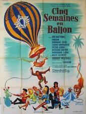 FIVE WEEKS IN A BALLOON 1963 IRWIN ALLEN 47x63