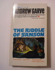The Riddle of Samson, Andrew Garve, 1963, 1st PB