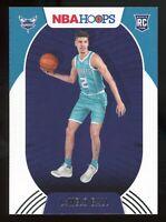 2020-21 Panini NBA Hoops LAMELO BALL Rookie Card RC #223 Charlotte Hornets E3
