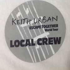 VTG KEITH URBAN T Shirt Escape Together New NBW Rare 2009 Local Crew XL