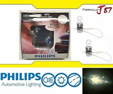 Philips VIsion Plus 60% H3 55W Two Bulbs Fog Light Upgrade Replacement Lamp Fit