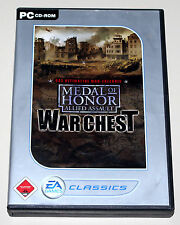 MEDAL OF HONOR ALLIED ASSAULT WAR CHEST - PC - INKL SPEARHEAD & BREAKTHROUGH