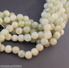 LOT de 20 PERLES JADE PIERRE NATURELLE INDE 7mm NATURAL STONE BEADS INDIA ASIA