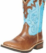 New Ladies Ariat 10010195 Unbridled Pro Crepe Brown Leather Cowboy Boot