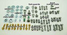 PLASTICS BOLT KIT FITS KTM SX XC MXC EXC FENDERS 65 85 125 250 300 350 450 520