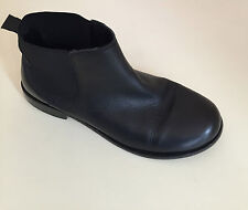 ZARA girls ankle boots Size 37  UK 4  Genuine leather in black