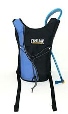 Camelbak Hydrobak Black And Blue Water Hydration Pack w/Bladder And Hose 50 Oz
