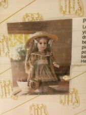Patsy -Porcelian Doll New Signature Collection Collectible