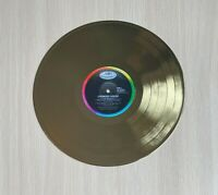 Crowded House Crowded House 1986 Gold Vinyl Record
