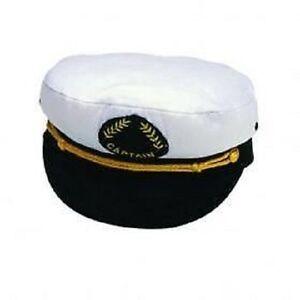 Captains Cap Kapitäns Mütze Captain keine Faschingsmütze!englische Qualität! 58