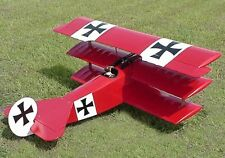 WWI  Scale  Fokker DR-I  Triplane 65 inch   Giant Scale RC Model AIrplane  Plans