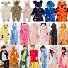 Unisex Baby Kid Animal Pajamas Romper Kigurumi Cosplay Costume Bathrobe Bodysuit