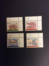 1988 Tristan de Cunha 19th Century Whaling set of 4 Unmounted Mint