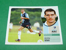 JEREMY HENIN LE HAVRE AC HAC PANINI FOOT 2003 FOOTBALL 2002-2003