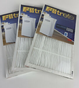 3 Pack Filtrete Replacement Air Purifier Filter - Fits FAPF02 / FAPF01