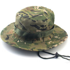 Men Bucket Hat Boonie Wide Brim Camo Sun Cap Military Outdoor Fishing Hunting