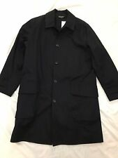 RARE!! RALPH LAUREN RRL OFFICER INSPIRED WATERPROOF TRENCH COAT MAC SZ LARGE