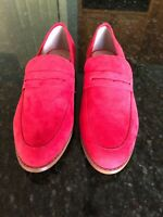 Restricted Myria Flat Red Loafers,  Size 9, NWOB