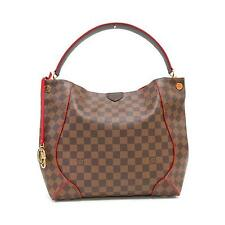 Authentic LOUIS VUITTON Damier Caissa Hobo N41555  #260-002-104-8616
