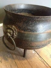 Iron/Cast iron Pot Garden Antiques