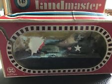 Vintage Zylmex Landmaster USA Patton Tank 1/87 Scale Boxed