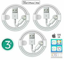 3x für Original AppIe iPhone Ladekabel für 5 6 7 8 Plus X XS MAX XR 10 11 12 SE
