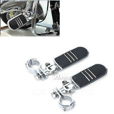 """1-1/4"""" Highway Foot Pegs Rest For Harley Touring Motorcycle Streamliner Chrome"""