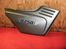 Honda CB 750 F Boldor RC04 Seitendeckel grau rechts side cover right grey
