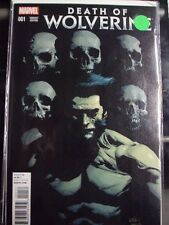 """DEATH OF WOLVERINE #1 1:50 LIMITED """"LEINEL YU"""" COVER VARIANT EDITION! NEAR MINT!"""