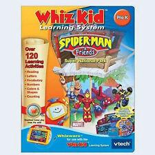 NEW VTECH WHIZ KIDS SPIDER MAN AND FRIENDS