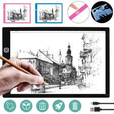 A4 LED Drawing Board Tracing Light Box Stencil Tattoo Copy Artist Craft Table