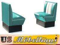 HW-70-T American Dinerbank Sitzbank Diner Bänke Möbel 50´s USA Style Gastronomie