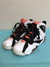 Nike Air Jordan 7 VII Retro 442960-106 White Black Hot Lava Size 4Y