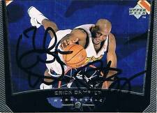 "Erick Dampier 1975 autograph signed UPPER DECK trading card 2.5""x3.5"" basketball"