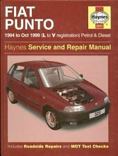 FIAT PUNTO 1.1 1.2 PETROL & 1.7 DIESEL ( 1994 - 1999 ) SERVICE & REPAIR MANUAL