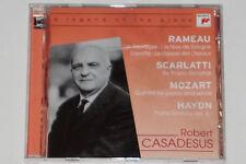 CASADESUS, Rameau, Scarlatti, MOZART-Legend of the Piano-Cd Sony Classical
