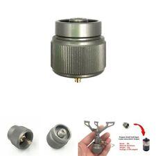 Propane Gas Tank Input EN417 Valve Output Convert Cylinder Canister Adapter LN