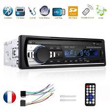 1DIN HD Autoradio Bluetooth Voiture Stéréo MP3 MP5 Lecteur USB FM AUX-IN FR