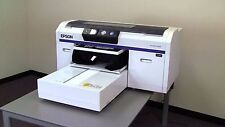 Epson F2000 DTG Printer With White Ink and 250mL Cartridges NEW PRINTHEAD